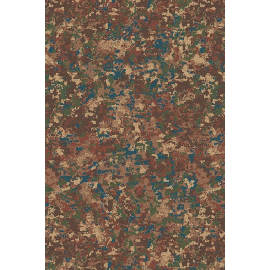 Regence Home Wellington Rectangular Multicolor Transitional Indoor/Outdoor Tufted Wool Area Rug (Common: 4-ft x 6-ft; Actual: 4-ft x 6-ft)