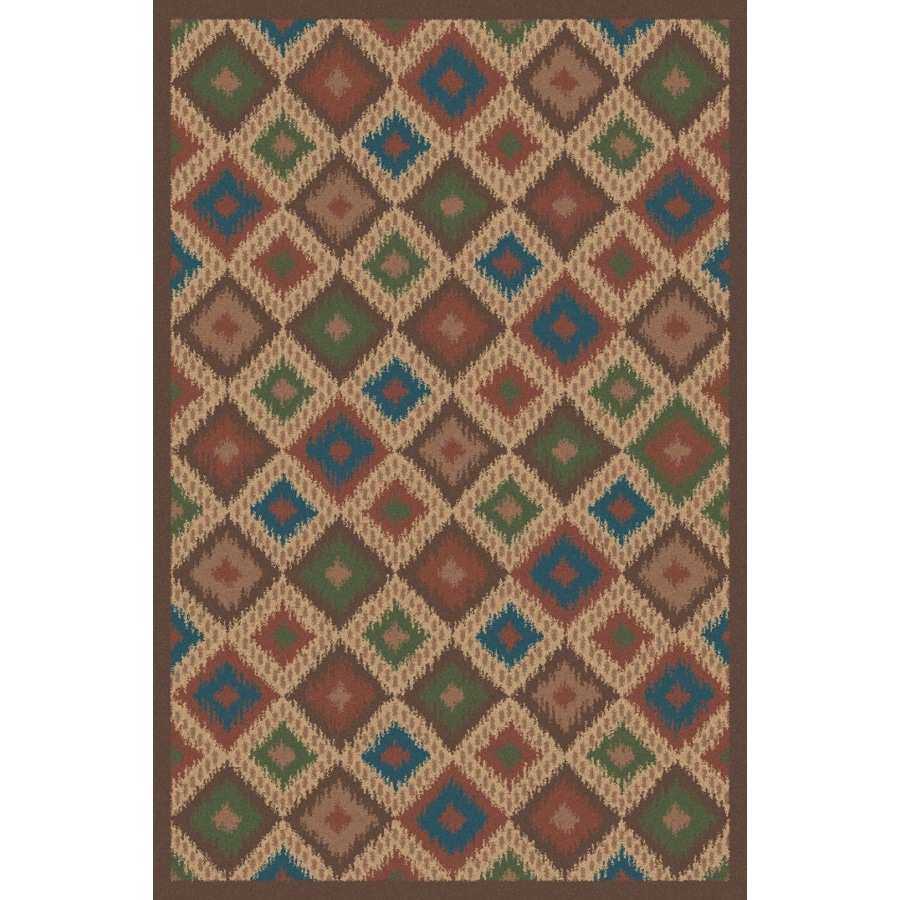 Regence Home Wellington Stone Rectangular Indoor Machine-Made Area Rug (Common: 5 x 7; Actual: 60-in W x 84-in L)