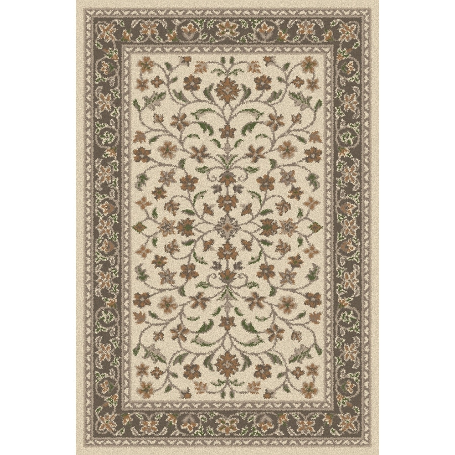 Regence Home Wellington Earth Rectangular Indoor Machine-Made Area Rug (Common: 6 x 9; Actual: 72-in W x 108-in L)