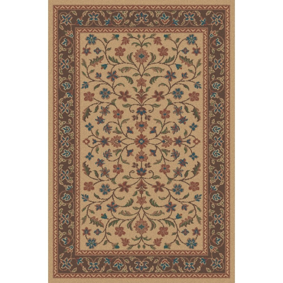 Regence Home Wellington Stone Rectangular Indoor Machine-Made Area Rug (Common: 5 x 7; Actual: 5-ft W x 7-ft L)