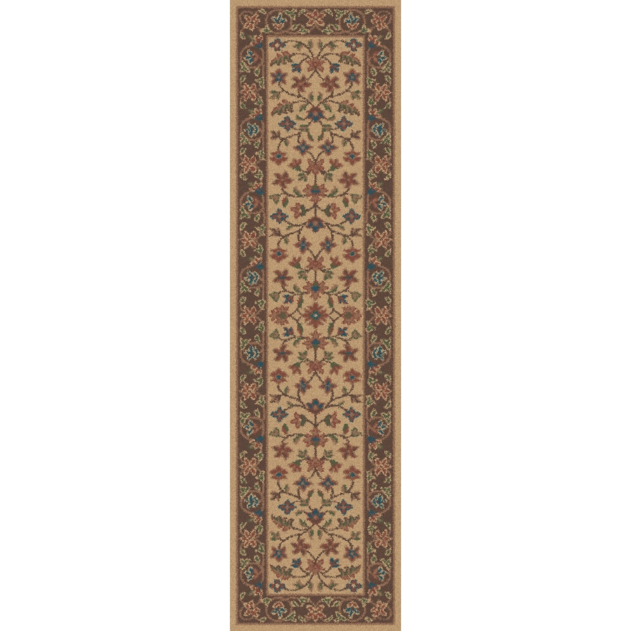 Regence Home Wellington Brown Indoor/Outdoor Tufted Wool Runner (Common: 2-ft x 8-ft; Actual: 2.166-ft x 8-ft)
