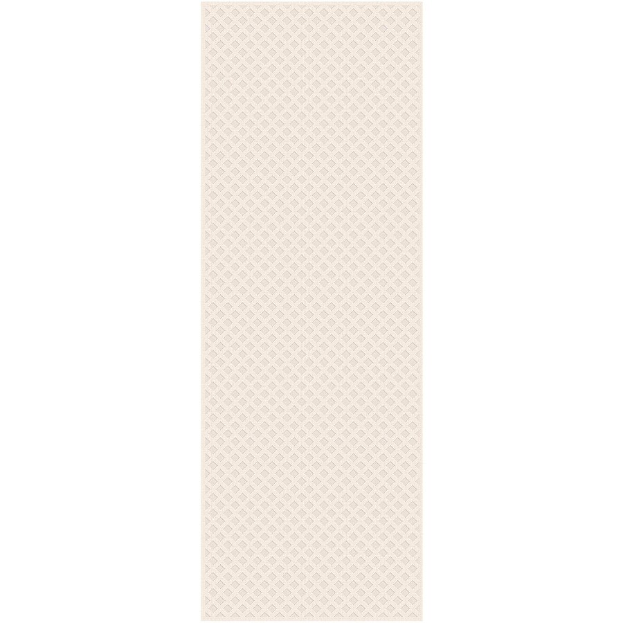 Regence Home Cheshire Ivory Rectangular Indoor Machine-Made Runner (Common: 2 x 10; Actual: 2.16-ft W x 10-ft L)