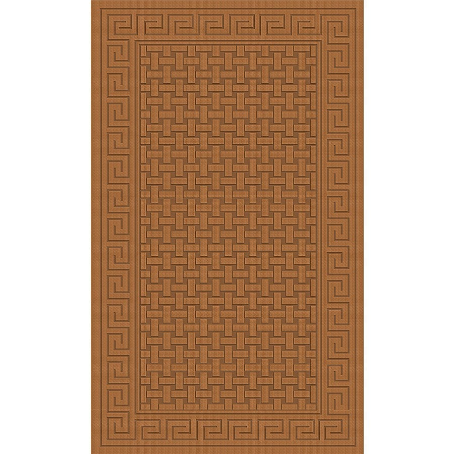 Regence Home Cheshire Nutmeg Rectangular Indoor Machine-Made Throw Rug (Common: 3 x 5; Actual: 3-ft W x 5-ft L)