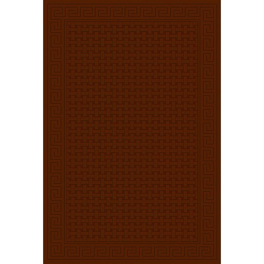 Regence Home Cheshire Redwood Rectangular Indoor Machine-Made Area Rug (Common: 4 x 6; Actual: 48-in W x 72-in L)