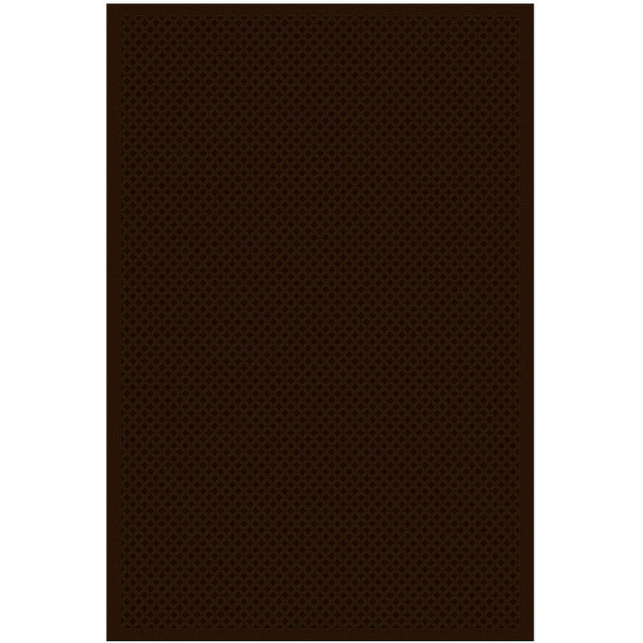 Regence Home Cheshire Chocolate Rectangular Indoor Machine-Made Area Rug (Common: 8 x 10; Actual: 8-ft W x 10-ft L)