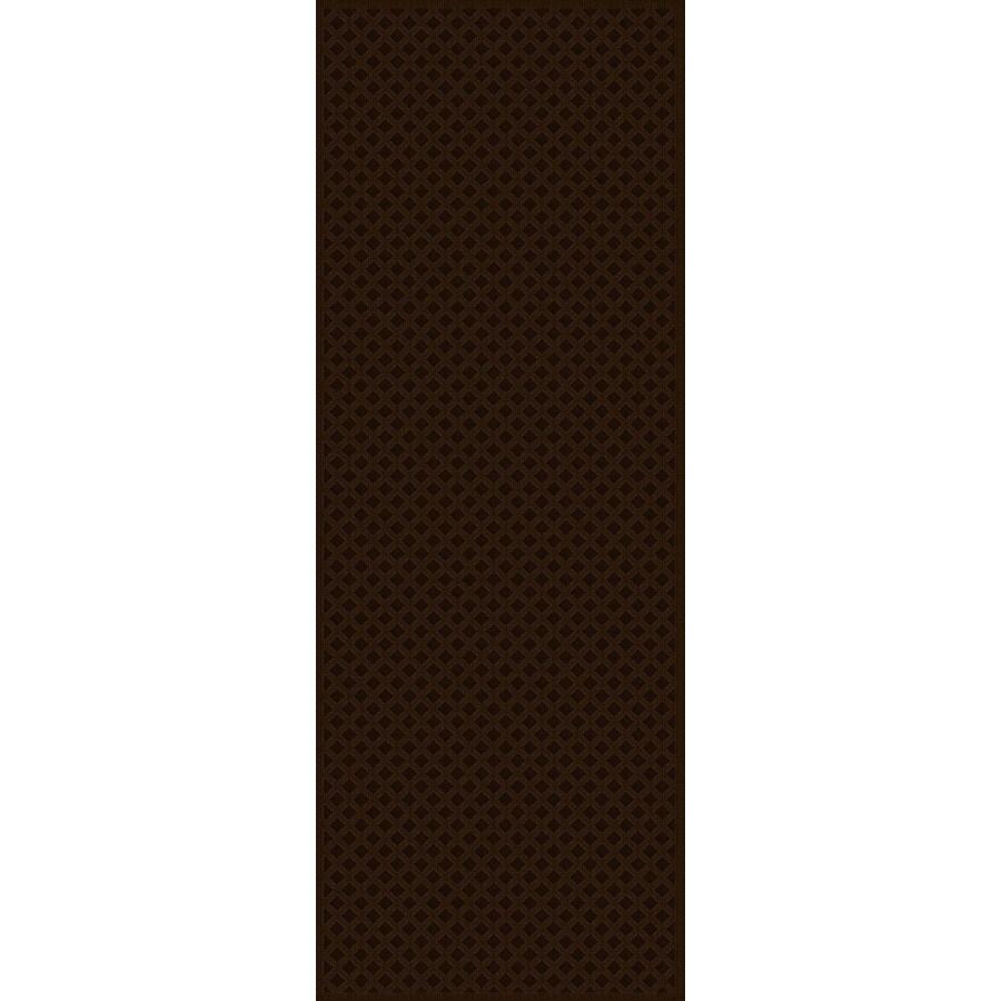 Regence Home Cheshire Brown Indoor/Outdoor Woven Wool Runner (Common: 2-ft x 10-ft; Actual: 2.166-ft x 10-ft)