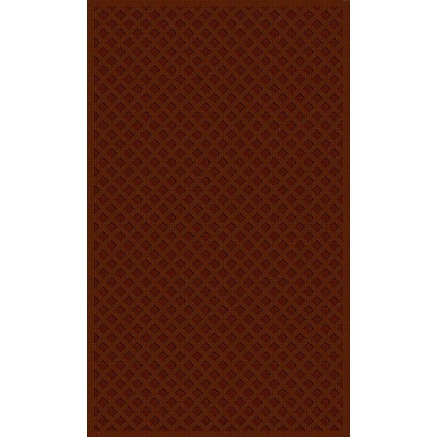 Regence Home Cheshire Redwood Rectangular Indoor Machine-Made Throw Rug (Common: 2 x 4; Actual: 26-in W x 43-in L)