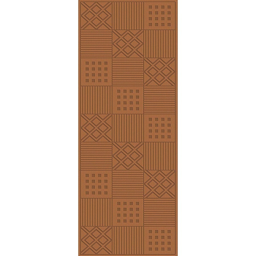 Regence Home Cheshire Cream Indoor/Outdoor Woven Wool Runner (Common: 2-ft x 6-ft; Actual: 2.166-ft x 6-ft)