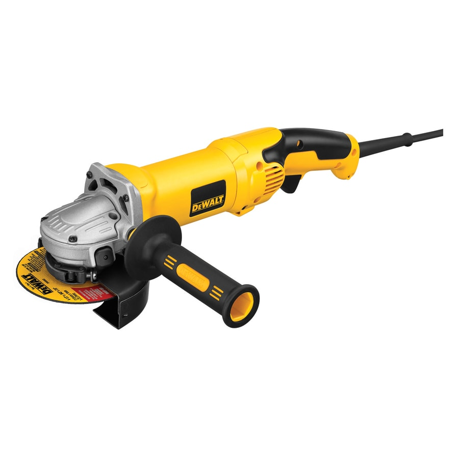 DEWALT 4-1/2-in to 5-in 13-Amp Trigger Switch Corded Angle Grinder