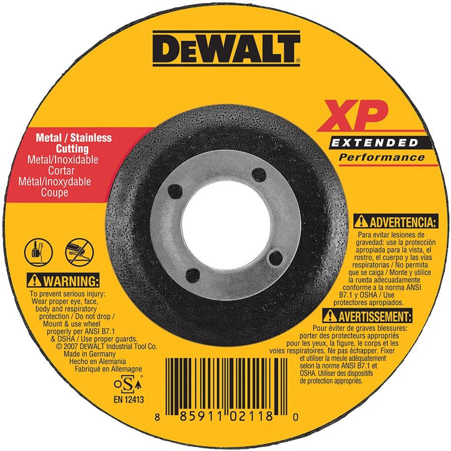 DEWALT XP Zirconia 5-in Grinding Wheel
