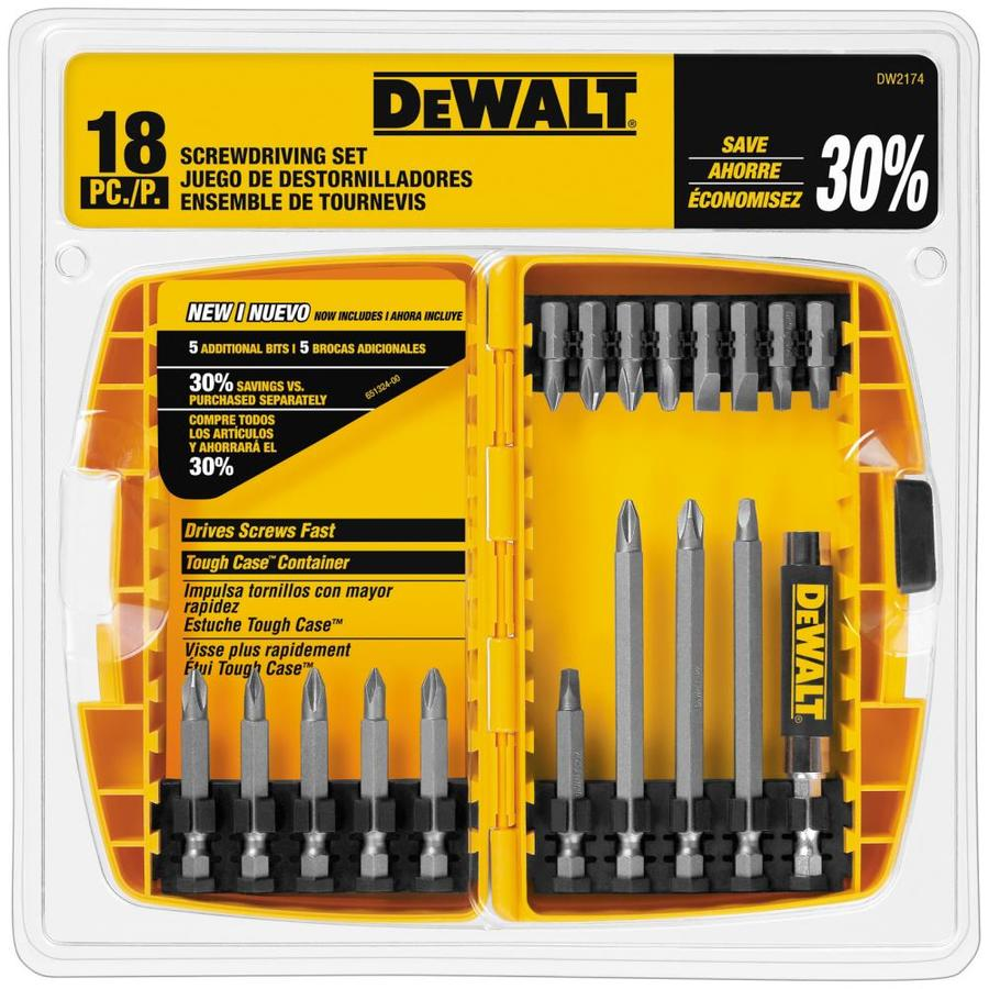 DEWALT 1-in 2-in 3.5-in Screwdriver Bit