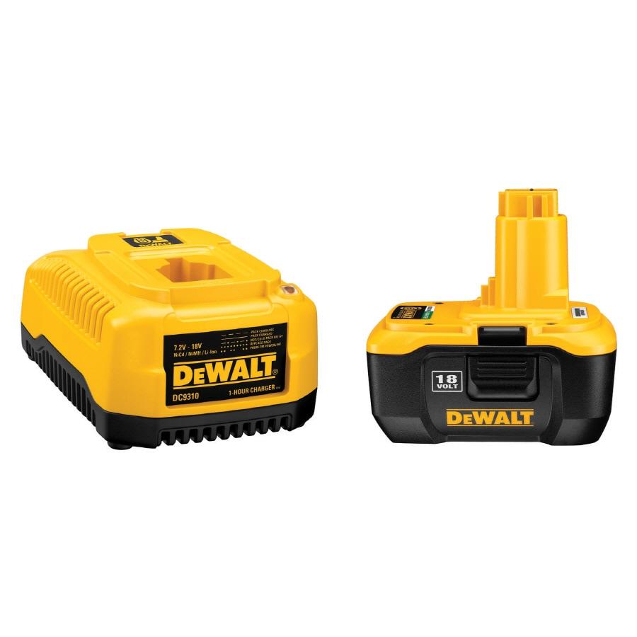 DEWALT 1 Hour Charger and 18V Xrp Li-Ion Battery