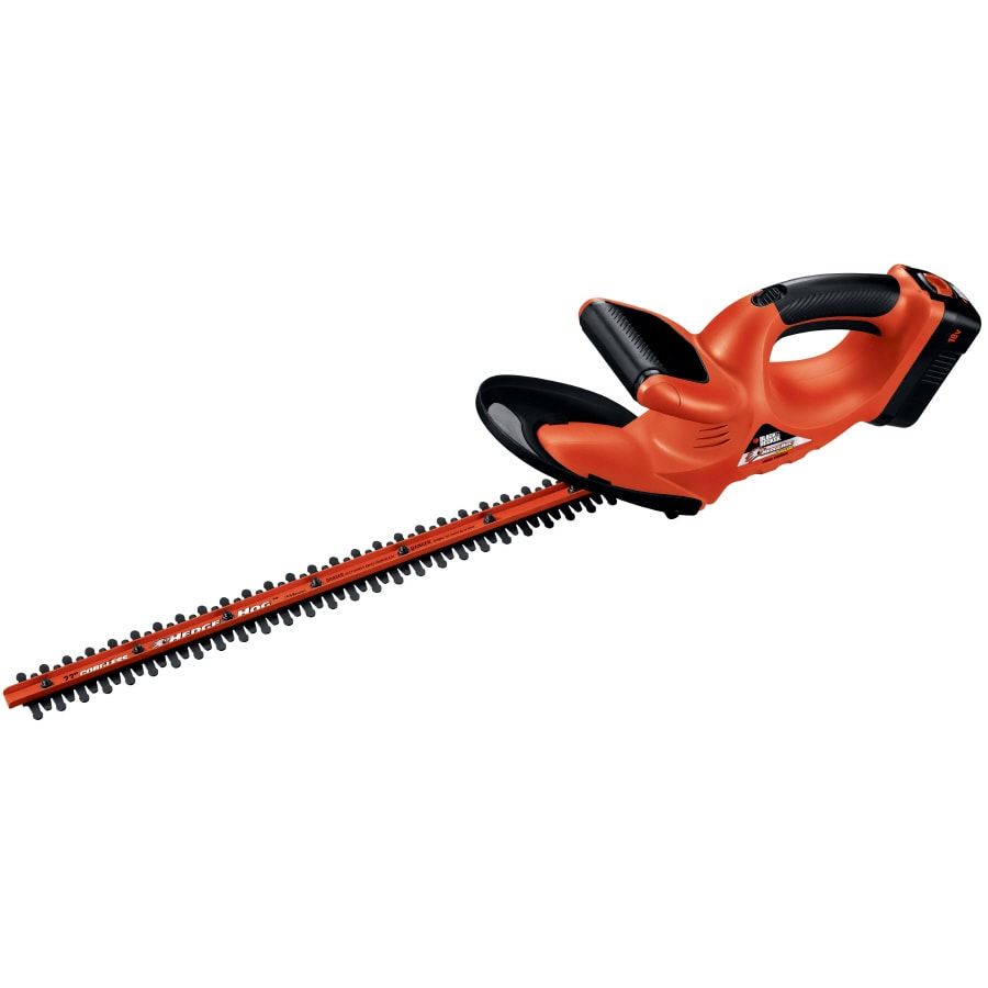 BLACK & DECKER 18-Volt 22-in Dual Cordless Hedge Trimmer (Battery Included)