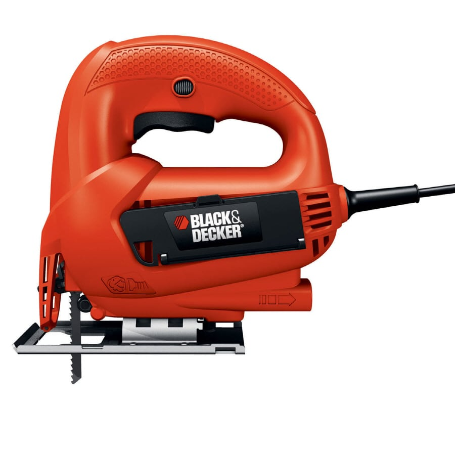 BLACK & DECKER 4.5-Amp Keyless T or U Shank Variable Speed Corded Jigsaw