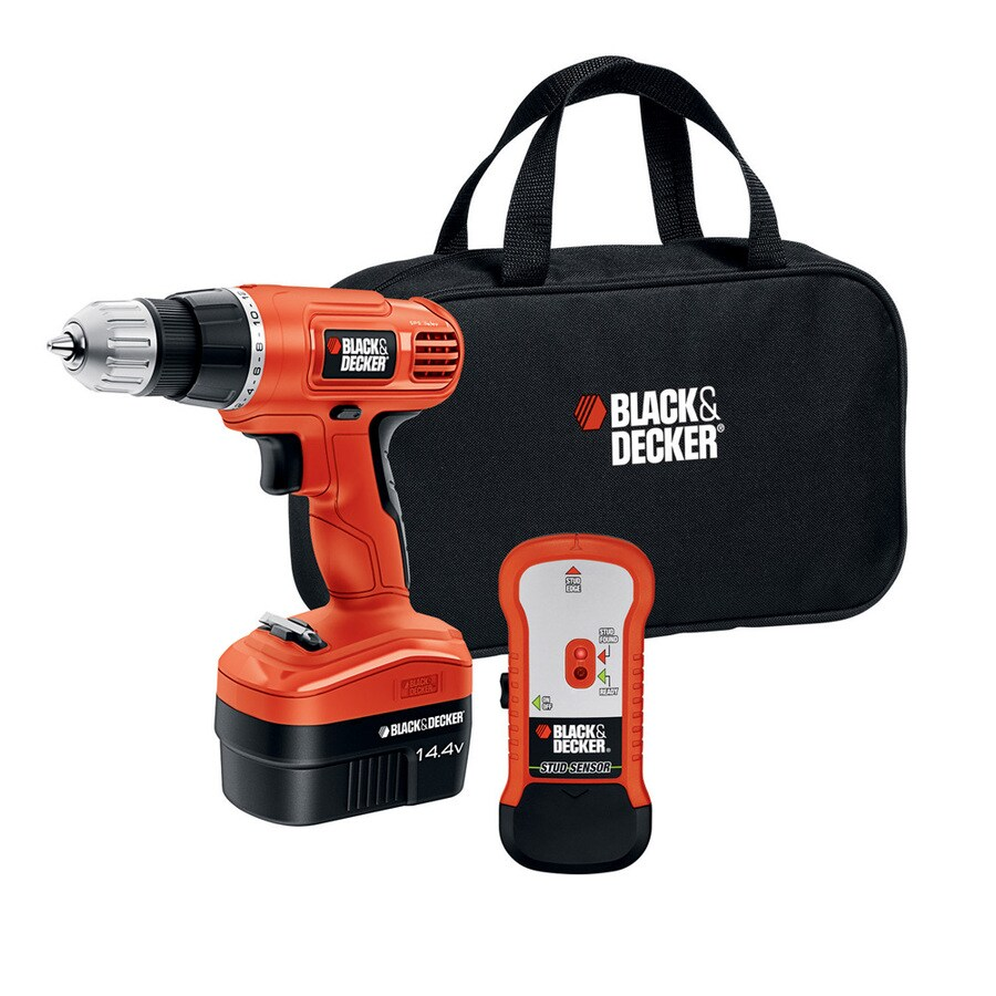 BLACK & DECKER 14.4-Volt 3/8-in Cordless Drill with Battery and Soft Case