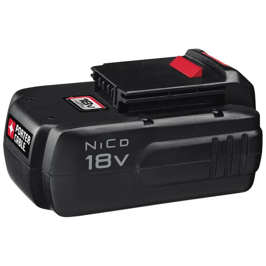 PORTER-CABLE 18-Volt 1.5-Amp Hours Nickel Cadmium (NiCd) Power Tool Battery