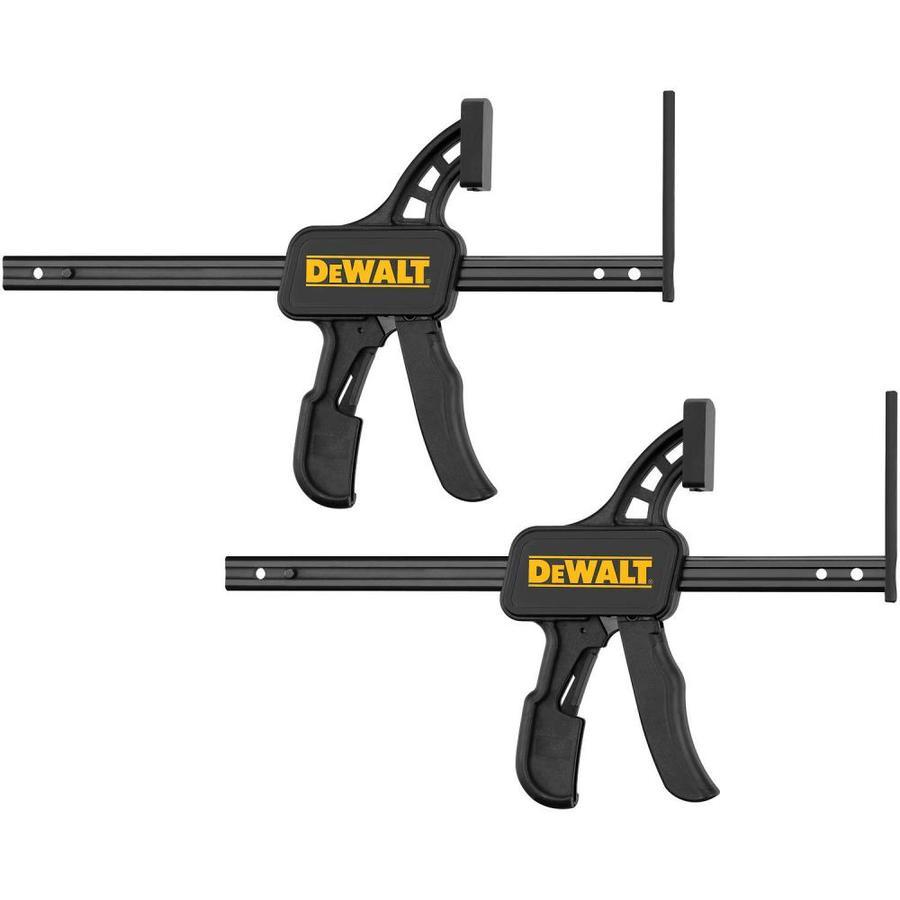 DEWALT TrackSaw Track Clamps