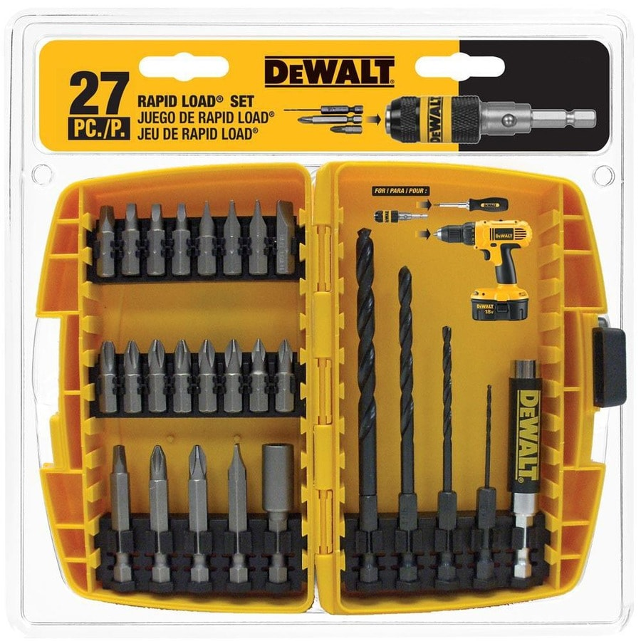 DEWALT Rapid Load 27-Piece Screwdriver Bit Set