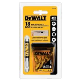 DEWALT 18-Piece Steel Hex Shank Screwdriver Bit Set