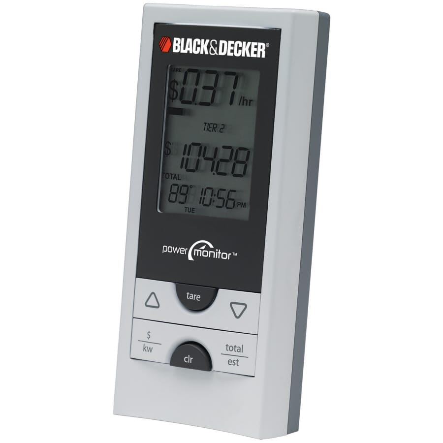 BLACK & DECKER Energy Saver Power Monitor