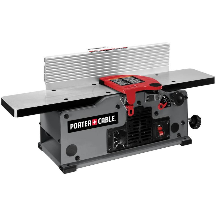 Shop porter cable 10 amps amp bench jointer at Bench planer