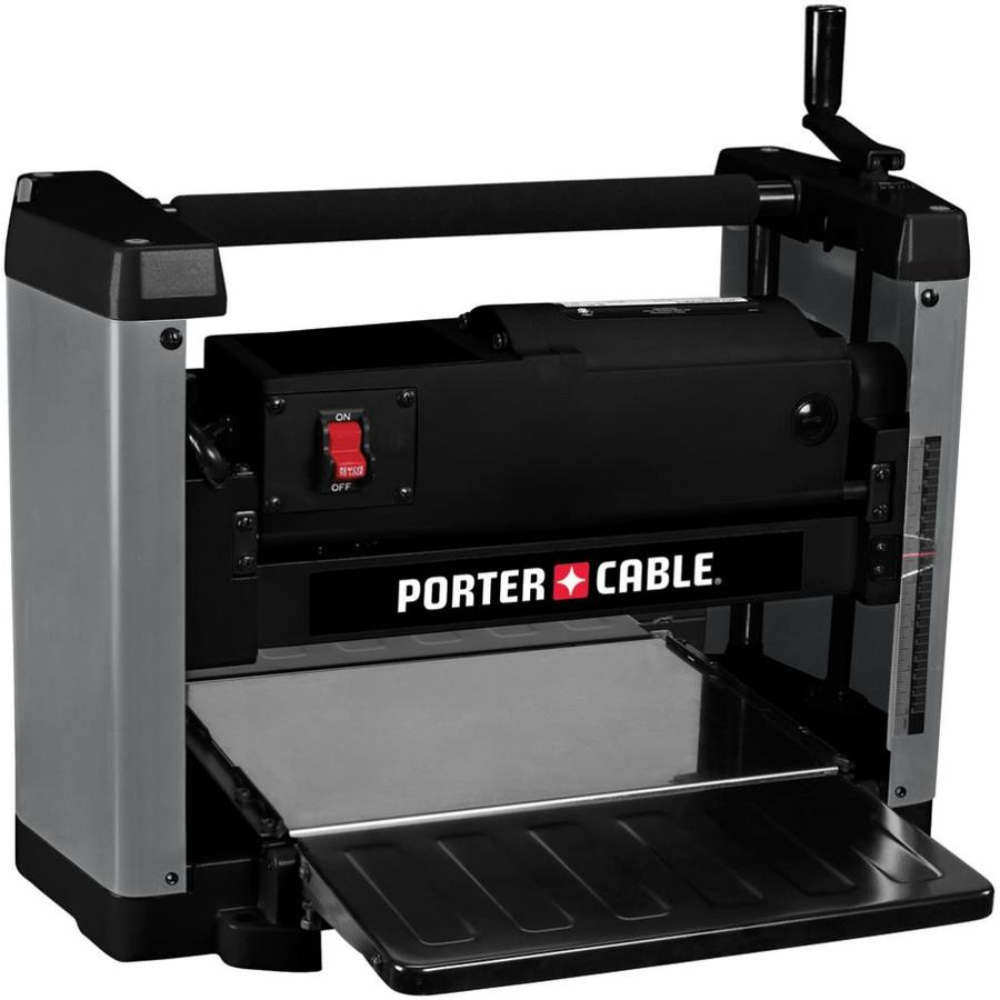Porter Cable 12 In W 15 Amp 2 Blade Benchtop Planer At
