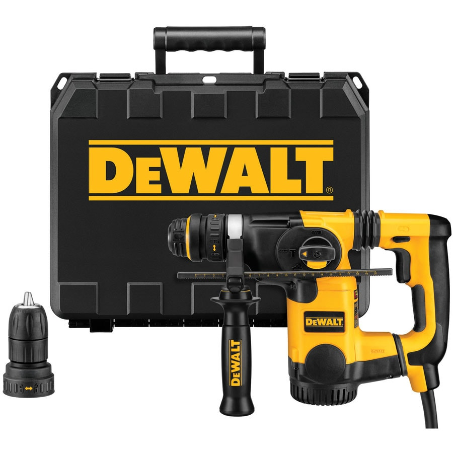 DEWALT 1-in SDS 8-Amp Keyless Rotary Hammer