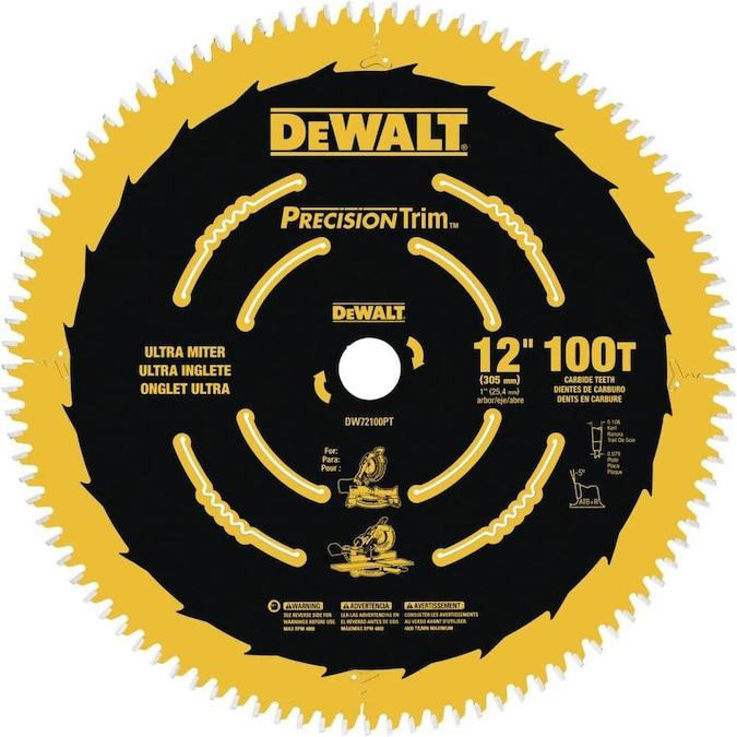 "14/""  Saw Blade 100 Tooth Ridge Carbide Tool Tip for Meter Saw fine Cutting"