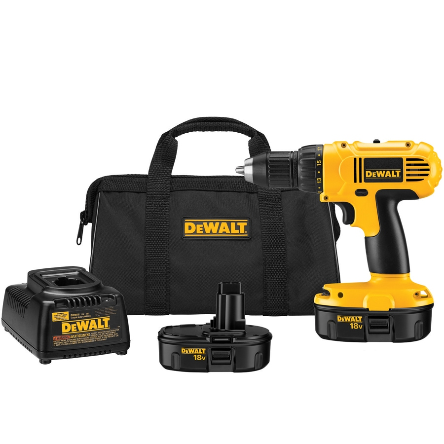 DEWALT 1/2-In Cordless Drill/Driver Kit with Soft Case