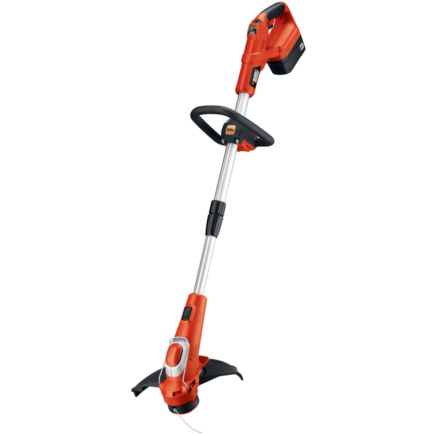 BLACK & DECKER 24-Volt 13-in Cordless String Trimmer and Edger