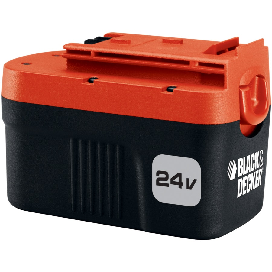 black decker 24 volt 1 7 amp hours power tool battery at. Black Bedroom Furniture Sets. Home Design Ideas