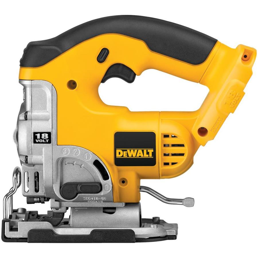 DEWALT 18-Volt Variable Speed Keyless Cordless Jigsaw (Bare Tool)
