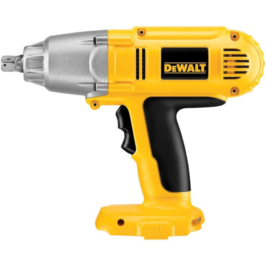 Dewalt 18 Volt 1 2 In Drive Cordless Impact Wrench Battery Not Included