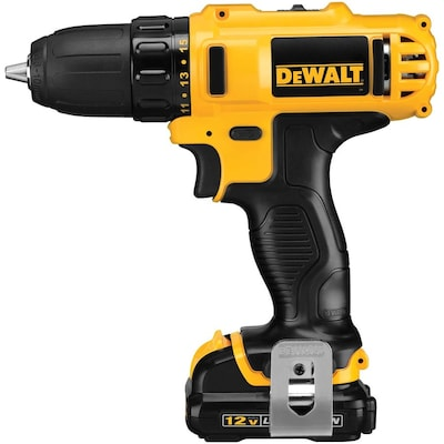 DEWALT 12-Volt Max 3/8-in Cordless Drill (Charger Included and 2-Batteries Included)