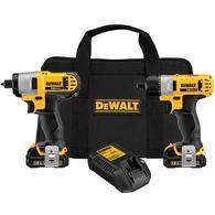 DEWALT 2-Tool 12-volt Max Power Tool Combo Kit Deals