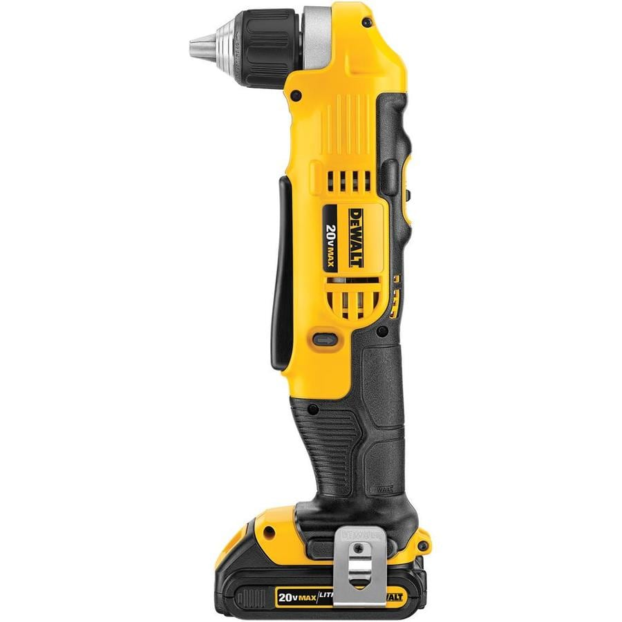 DEWALT 20-Volt Max Lithium Ion (Li-ion) 3/8-in Cordless Drill Battery Included Hard