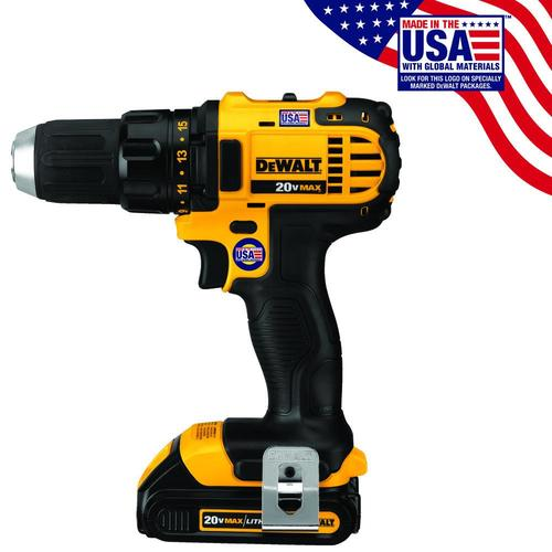 DEWALT 20-Volt Max 1/2-in Cordless Drill (Charger Included) at Lowes.com