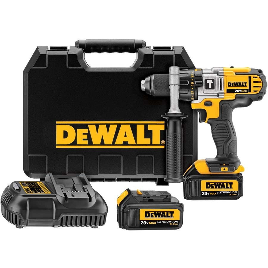 DEWALT 1/2-in 20-Volt Max Lithium Ion (Li-ion) Variable Speed Cordless Hammer Drill