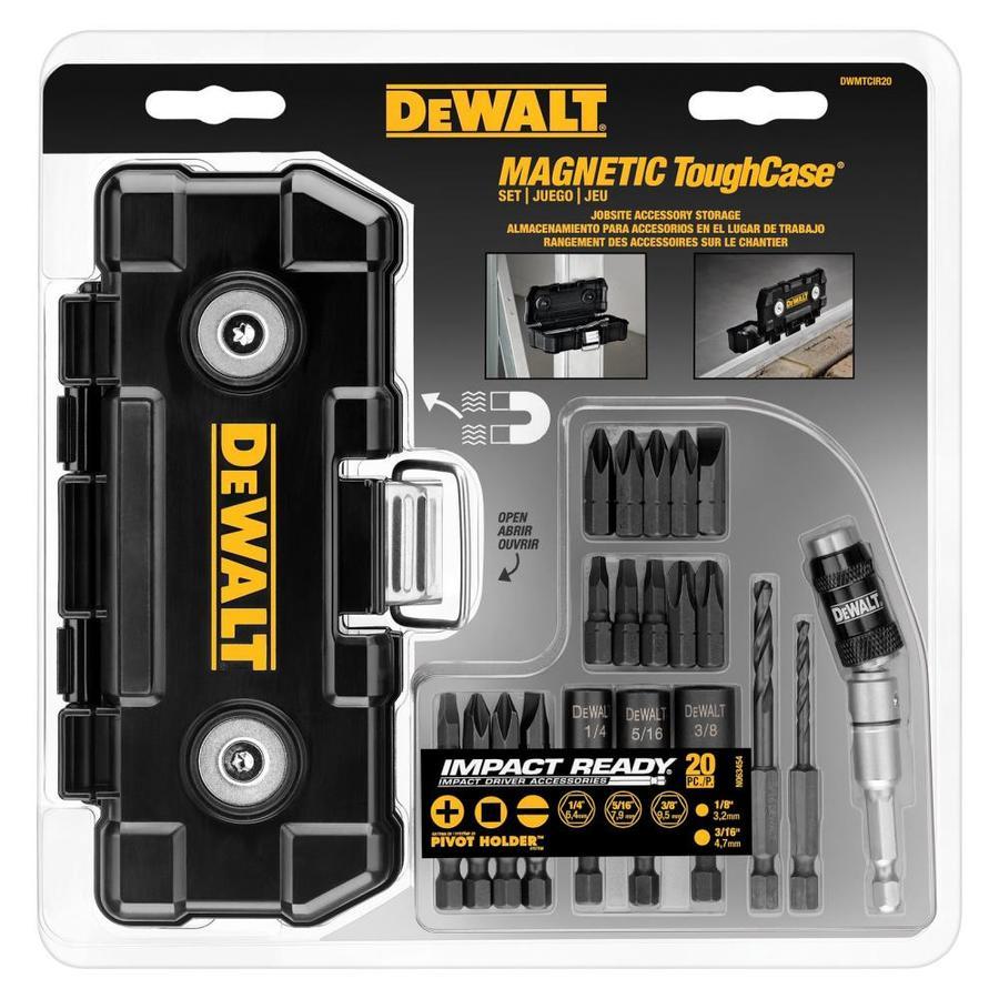 DEWALT 20-Piece Impact Driver Bit Set
