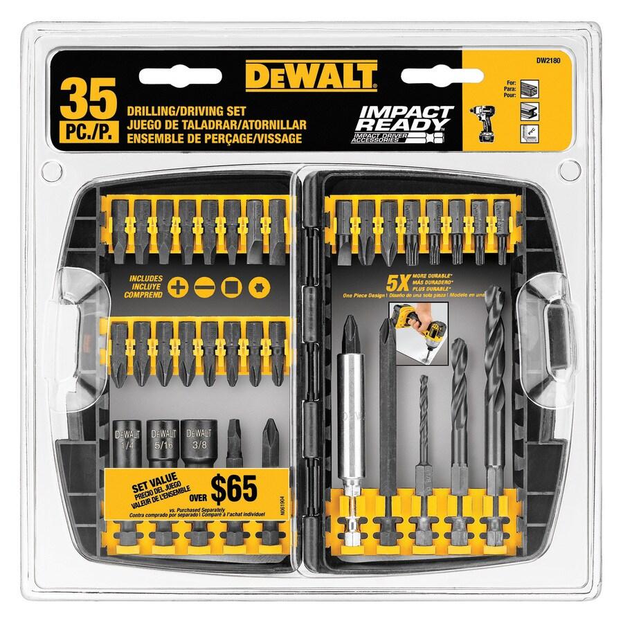 DEWALT 35-Piece Impact Driver Bit Set