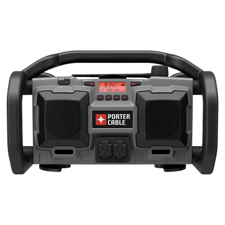 PORTER-CABLE 18V Cordless/120V Corded Jobsite Radio