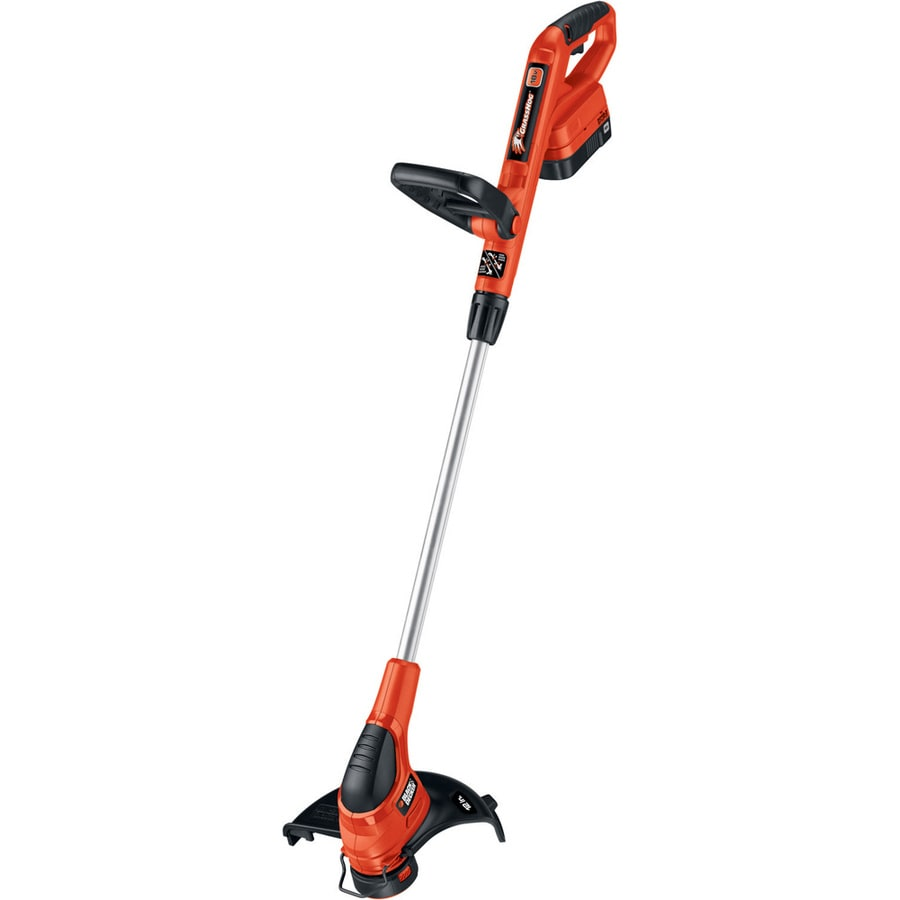 BLACK & DECKER 18-Volt 12-in Straight Cordless String Trimmer and Edger (Battery Included)