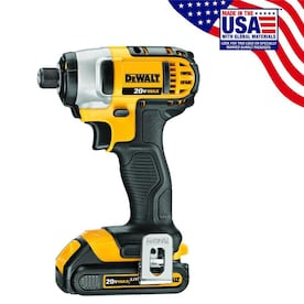 DEWALT 20-Volt Max Variable Speed Cordless Impact Driver (2-Battery)