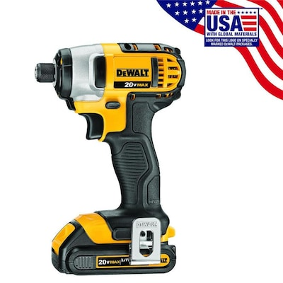 20 Volt Max Variable Sd Cordless Impact Driver Charger And 2 Batteries Included