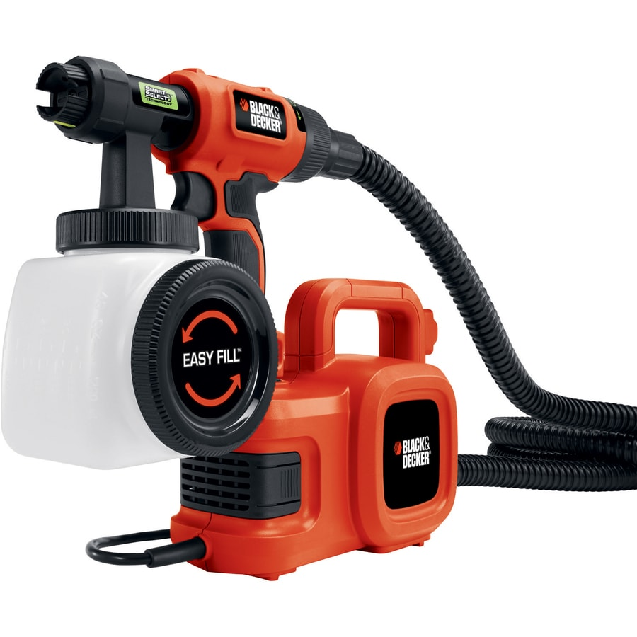 BLACK & DECKER Handheld HVLP Paint Sprayer