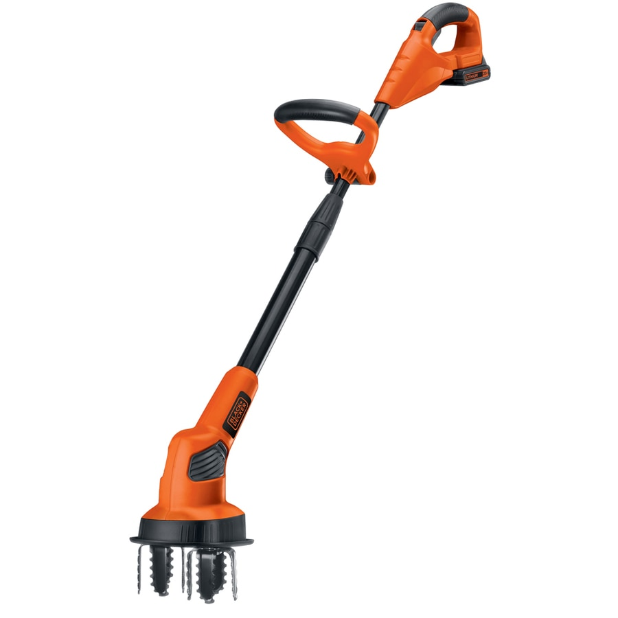 BLACK & DECKER 20-Volt Lithium Ion 7-in Cordless Electric Cultivator