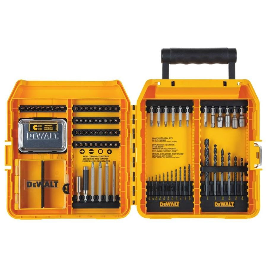 DEWALT Pro 80-Piece Screwdriver Bit Set