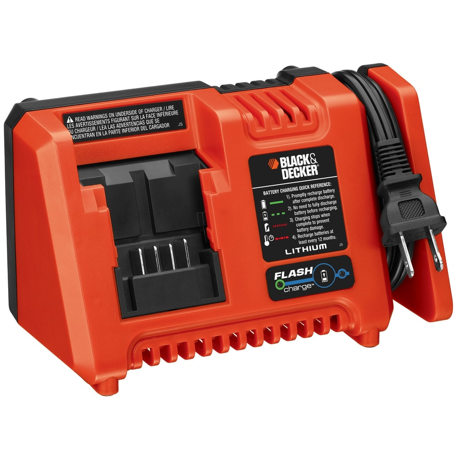 BLACK & DECKER Lithium 2 Amp Fast Charger W/Boost