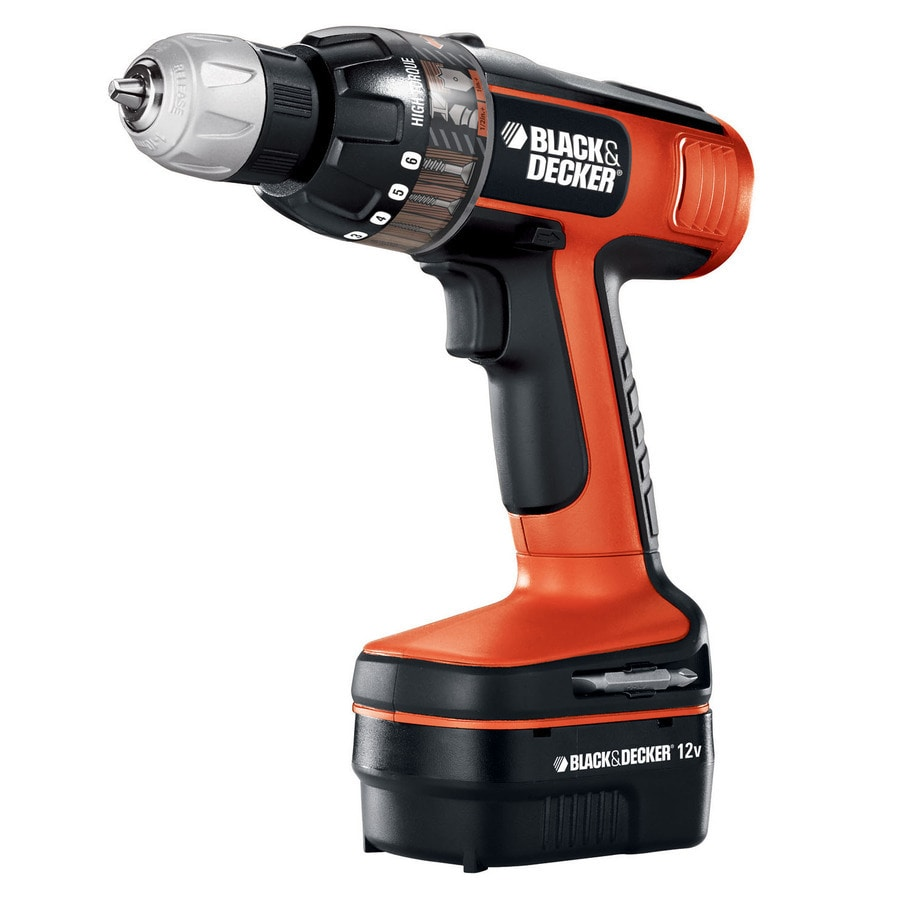 BLACK & DECKER 12-Volt 3/8-in Cordless Drill with Battery