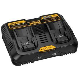 Dewalt Dcb102 Battery Charger - 120 V Ac, 12 V Dc Input - 5 V Dc Output - Input Connectors: Usb - 2 - Proprietary Battery Size (dcb102)